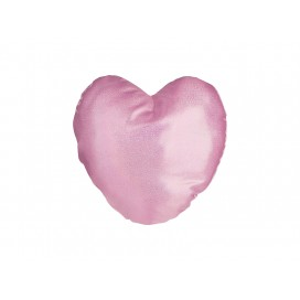 Glitter Heart Shape Pillow Cover(40*40cm,Pink) (10/pack)
