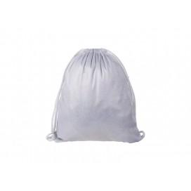 Glitter Drawstring Backpack (Silver) (10/pack)