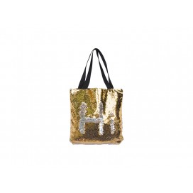 Sequin Double Layer Tote Bag (Gold/Silver) (10/pack)