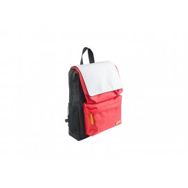 Kids School Bag (Black w/ Red Pocket) (10/pack)