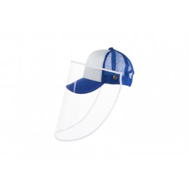 Sublimation Kids Cap w/o Removable Face Shield (Blue) (10/pack)