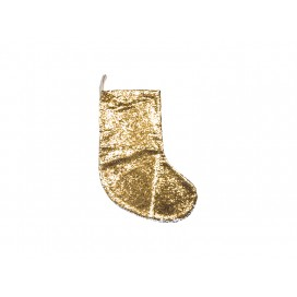 Sequin Christmas Stocking (Gold/Silver) (10/pack)
