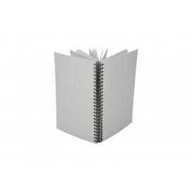 A5 Wiro Fabric Notebook(10/pack)