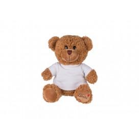 23cm Plush Teddy Bear w/ Shirt(Brown) (10/piece)