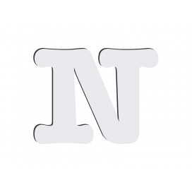 Sublimation HB Letters - N(36/pack)