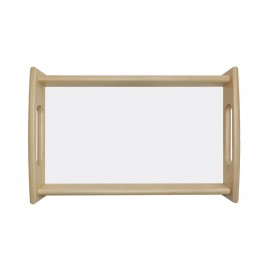 Wooden Tray without Sublimation Insert (25*38cm) (10/pack)