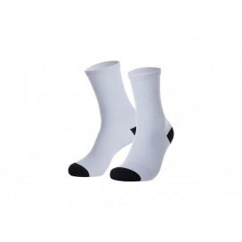 Sublimation Silver Silk Glitter Socks (Female, 35cm) (10pairs/pack  )