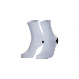 Sublimation Adult Crew Socks(8.8*30.5, Silver) (10pairs/pack)