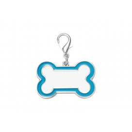 Sublimation Dog Tag (Blue Edge, 3*4.5cm)(10/pack)