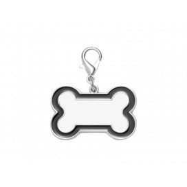 Sublimation Dog Tag (Black Edge, 3*4.5cm)(10/pack)