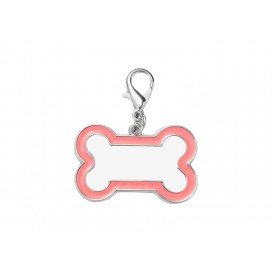 Sublimation Dog Tag (Pink Edge,3*4.5cm)(10/pack)