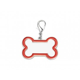 Sublimation Dog Tag (Red Edge,3*4.5cm)(10/pack)