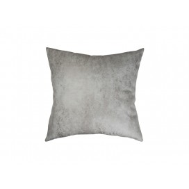 Sublimation Leathaire Pillow Cover (40*40cm, Dark Grey)(10/pack)